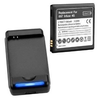 Mugen Power Extended Battery w/ Battery Cover for Samsung