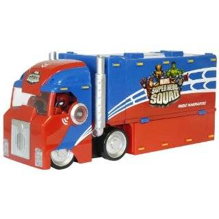 Hasbro Spider Man Super Hero Squad   Battle Truck Toys