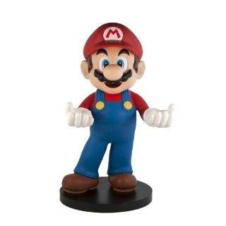 Super Mario Bros 12Vinyl Figure Nintendo 3DS Holder Toys