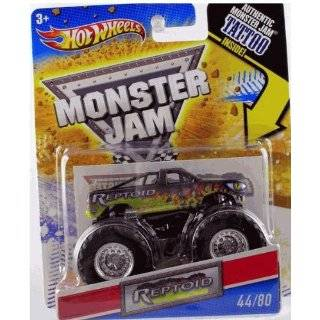 2011 Hot Wheels Monster Jam #44/80 REPTOID 1:64 Scale Collectible