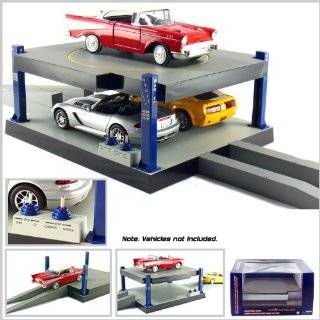 Battery Operated Car Lift for 124 Scale Die cast Model