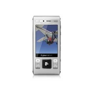 Sony Ericsson SONYC905SILV C905a Unlocked Phone with Wi Fi, 8MP Camera