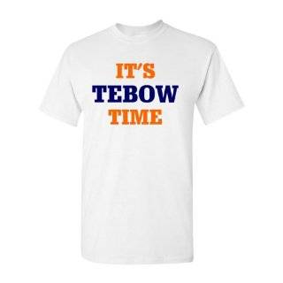 Tebow Nation Orange Adult and Youth T Shirt by BBG: Sports & Outdoors