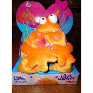 Scary Monsters Plush   Otto the Love Monster 7 (Small) Toys & Games