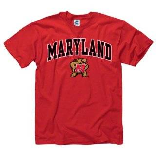 Maryland Terrapins Black Arch T Shirt