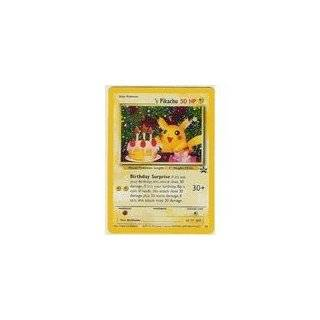 Pokemon Card   Black Star Promo #24   _____S PIKACHU (happy birthday