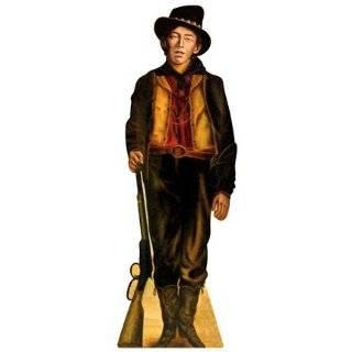 Billy The Kid Wild West Cowboy Cardboard Standee Standup Cutout