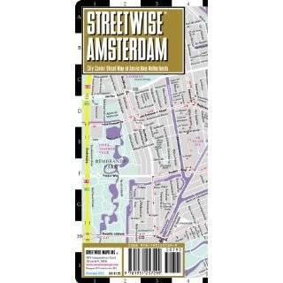 Streetwise Amsterdam Map   Laminated City Center …