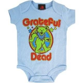 Grateful Dead Retro Dancing Bear Creeper Infant Onesie