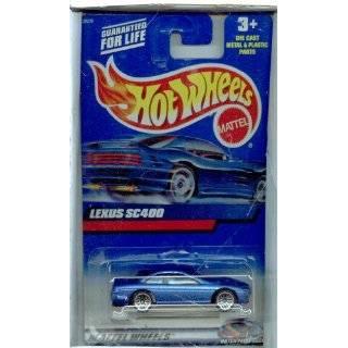 Mattel Hot Wheels 1991 164 Scale Maroon Lexus SC400 Die