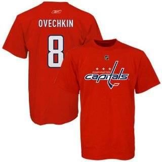 Alexander Ovechkin Capitals Reebok NHL Player T Shirt