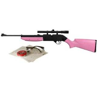 Crosman 760 Pink Pump Master Variable Pump Air Rifle with Starter Kit