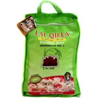 Basmati Rice Lal Quila, 160 Ounce:  Grocery & Gourmet Food