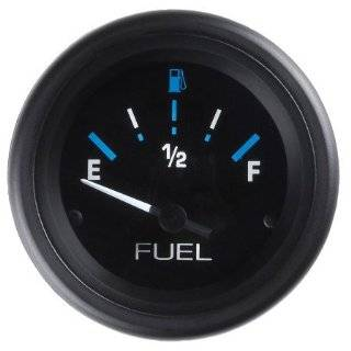 CP8219 StyleLine Electrical Fuel Level Gauge   Black Dial: Automotive