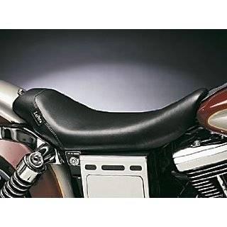Le Pera Bare Bones Solo Vinyl Seat for 1991 2010 Harley Davidson Dyna