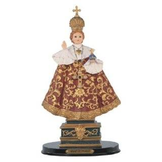 12 Inch Infant Of Prague Holy Child Religious Figurine Statue Decor