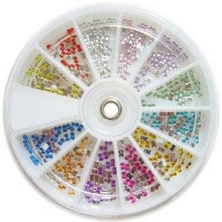 Nail Art MoYou Bow knot Shaped Mix colored Rhinestone Pack of 1000