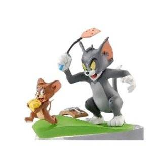 to Find Tom and Jerry 8 Piece Cake Topper Set Featuring Tom, Jerry