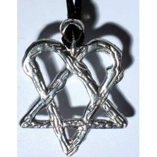 NEW Heartagram Necklace   Pentagrams