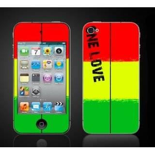 iPhone 4 Rasta #1 Reggae One Love Bob Marley Vinyl Skin