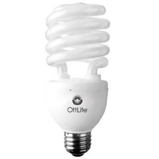 25W Energy Star CFL Bulb   10K Hr Life Warm White Light