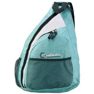 Pink Plaid Cross Body Sling Messenger Backpack / Outdoor