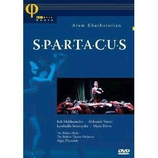 Khatchaturian   Spartacus / Irek Mukhamedov, Natalya Bessmertnova