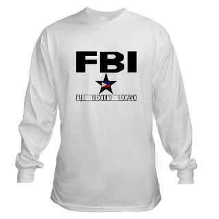 FBI   FULL BLOODED ILOCANO Long Sleeve T Shirt by taglish