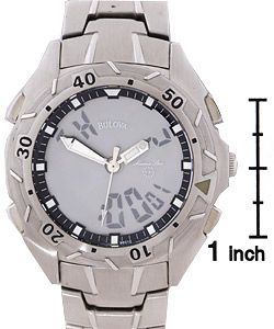Bulova Marine Star Mens Digital/Analog Watch