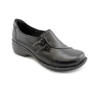 Clarks Artisan Womens Mill Quarter Leather Casual Shoes   Wide