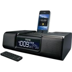 iHome SDI Technologies IA9 Desktop Clock Radio   Stereo   Apple Dock