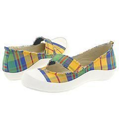 Dr. Scholls Clipper Blue Plaid