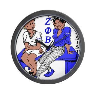Zeta Phi Beta Clock  Buy Zeta Phi Beta Clocks