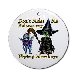 Wizard Of Oz Flying Monkeys Christmas Ornaments  Unique Designs