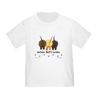 Cairn Terrier Gifts and T shirts : Nothin Butt Dogs