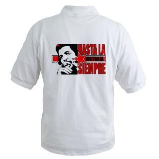 Che Guevara T shirts. Hasta l Golf Shirt for