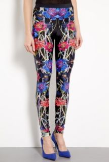Hermione de Paula  Exclusive Penelope Black Swan Printed Leggings by Hermione de Paula