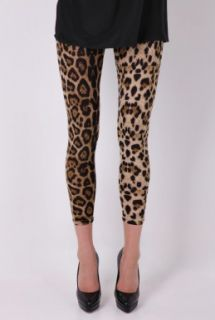 Leopard Print Leggings by Daddy Long Legs   Multicoloured   Buy Leggings Online