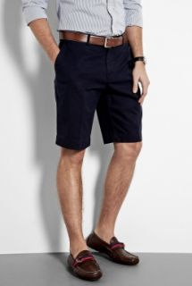 Polo Ralph Lauren  Navy Cotton Chino Preston Shorts by Polo Ralph Lauren