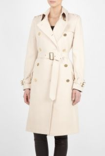 Barbour  Winter White Honour Wool Trench Coat by Barbour
