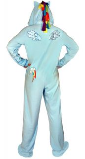 Rainbow Dash Hooded Union Suit