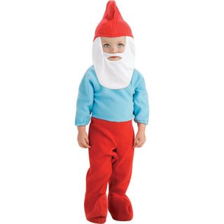 The Smurfs Papa Smurf Infant Costume   Size 6 12 Months