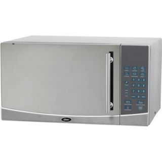 Magic Chef 1.1 Cu Ft 1000W Microwave Oven   Stainless Steel