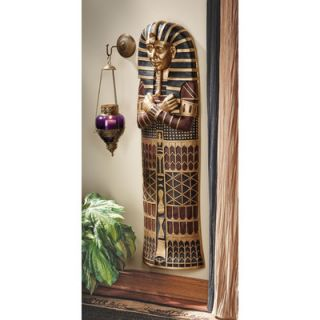 Design Toscano King Tut Sarcophagus Wall Sculpture
