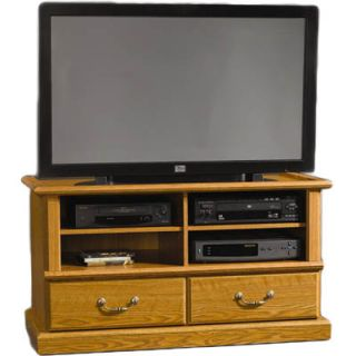 Sauder Orchard Hills Entertainment Credenza   Carolina Oak