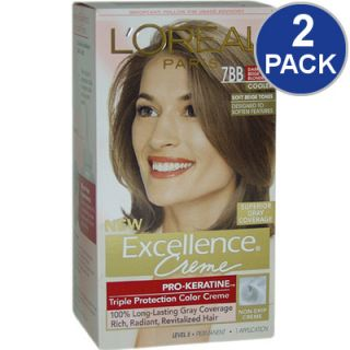 LOreal Excellence Creme Pro Keratine Hair Color   Dk Beige Blonde #7BB