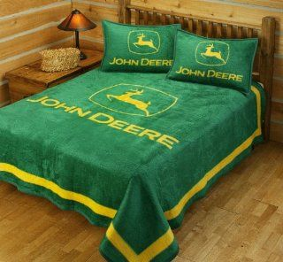 John Deere Bed Blanket, FULL/QUEEN