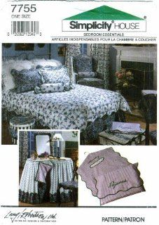 Simplicity 7755 Sewing Pattern Bedroom Decor Pillow Cover