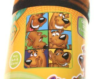 Scooby Doo Expressions Throw Fleece Blanket: Home & Kitchen