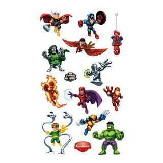 ROOMMATES RMK1751SCS Marvel Super Hero Squad Peel and